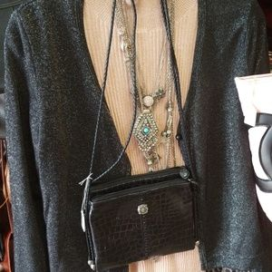 Vintage Leather Brighton Crossbody